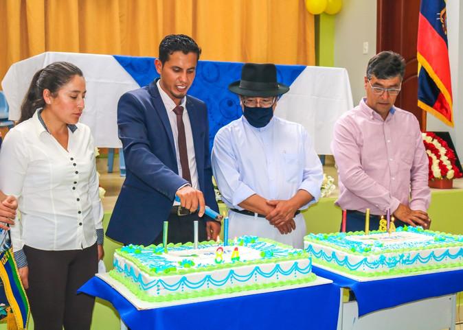 Selva Alegre celebró 84 años de parroquialización