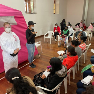 Ibarra se benefició de la campaña de prevención de cáncer de mama