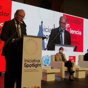 Unión Europea y ONU lanzan la iniciativa Spotlight contra la violencia de género en Ecuador