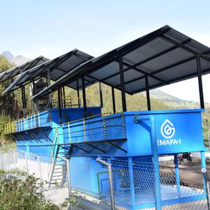 Sistema de agua potable Zambal de las Rosas con un 95% de avance
