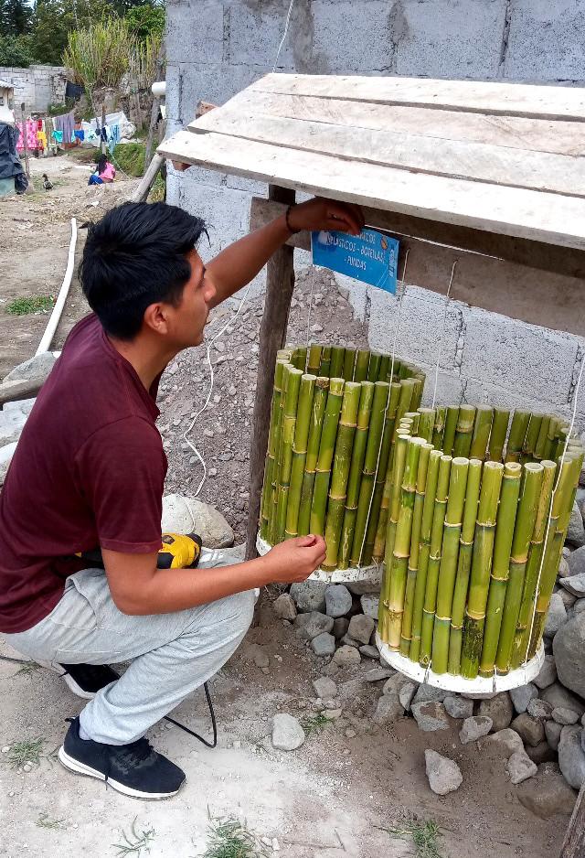Comunidad académica fomenta tratamiento de desechos sólidos desde los hogares