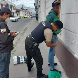 Intentó ingresar droga al Centro de Rehabilitación Social de Ibarra