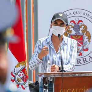 Alcaldesa de Ibarra realiza pedido a Presidente sobre plan de vacunación contra covid 19