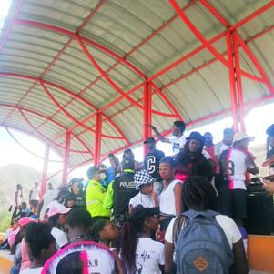 Policía Nacional suspende evento deportivo en Mascarilla