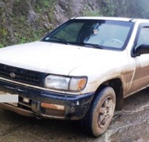Encuentran vehículo abandonado en la vía a Selva Alegre