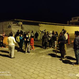Barrios preocupados por inseguridad en Ibarra