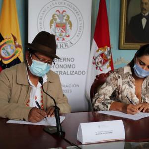 Acuerdo para la gestión del transporte de las operadoras La Esperanza y 24 de Junio