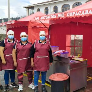 Mercados de Otavalo se reactivan con seguridad y cumpliendo protocolos