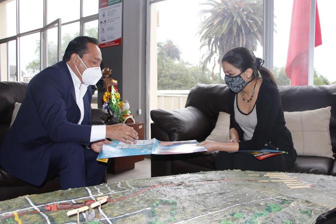 Visita de ministra de cultura coadyuva en la repotenciación de espacios patrimoniales