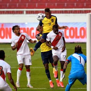 Ecuador mantiene el tercer lugar en las eliminatorias
