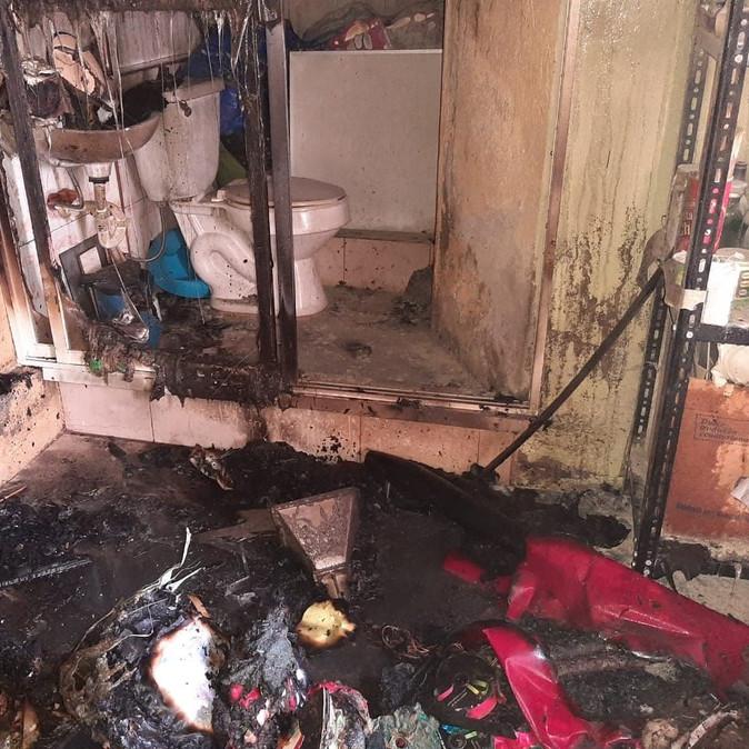 ECU 911 coordinó atención ante conato de incendio estructural en San Antonio de Ibarra