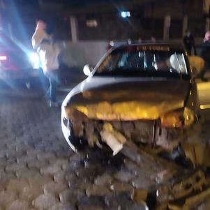 ECU 911 coordinó atención ante choque y volcamiento en ciudadela Simón Bolívar