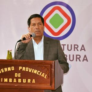 Pablo Jurado felicita a Guillermo Lasso y espera recibir apoyo para la provincia