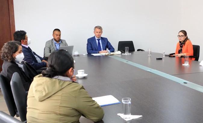 Gobernadora de Imbabura coordina acciones en favor las comunidades de Urcuquí