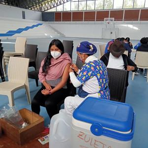 Imbabura entre las provincias con mayor porcentaje de vacunación del país