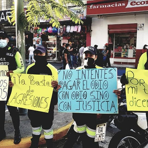 Sin solución retención de agentes de tránsito y funcionarios de Movidelnor en comunidad en Otavalo