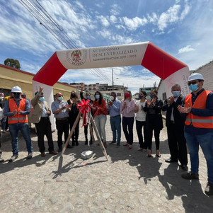 Municipio de Ibarra inicia plan masivo de mejoramiento vial
