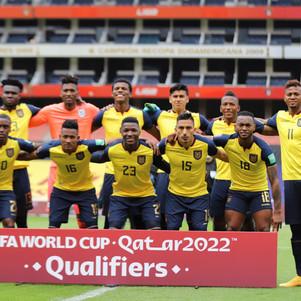 Ecuador cierra jornada de eliminatorias con dos derrotas