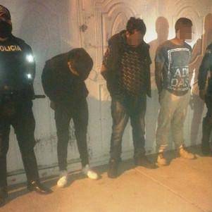 Detenidos por robo a domicilio en Ibarra