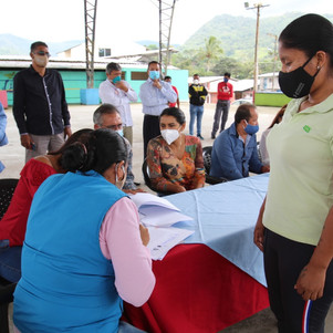 Habitantes de Lita recibieron 73 lotes para vivienda