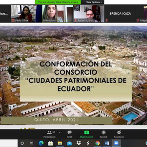 AME y AECID Ecuador socializaron modelo de gestión para la conformación de consorcio