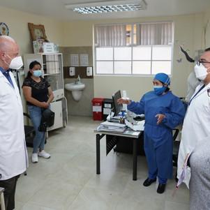 Vicepresidente anuncia repotenciación de hospitales en Imbabura