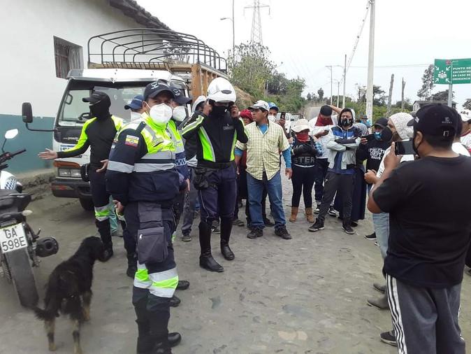 Movidelnor y población de Imantag enfrentados por control a transporte informal