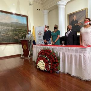 Municipio conmemoró aniversario de Batalla de Ibarra