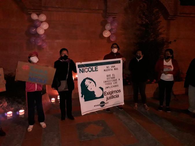 34 años de cárcel para responsables de violación y muerte de Nicole