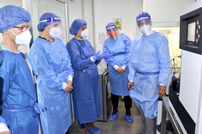 GIZ dona equipo a Yachay Tech para fortalecer la capacidad deanálisis molecular