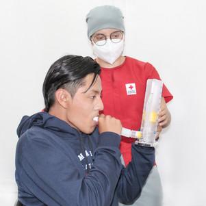 Cruz Roja de Imbabura abre centro de terapia respiratoria