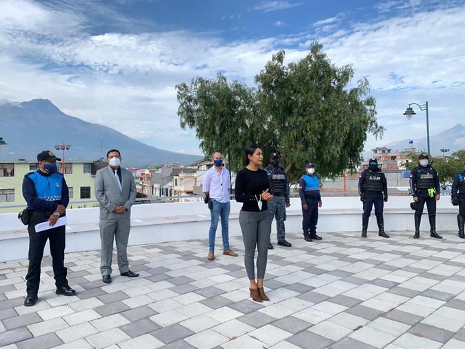 César Escobar, nuevo Director de Seguridad Ciudadana del Municipio de Ibarra