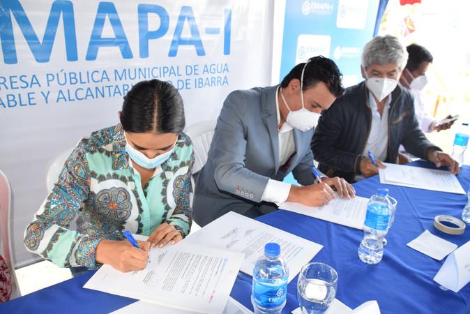 670.000 dólares para construir sistema de agua potable Zambal de las Rosas
