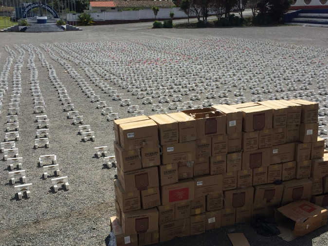 Decomisan contrabando de cigarrillo por un valor de USD 300 mil