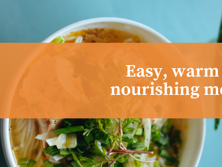 Quick, easy and nourishing meals
