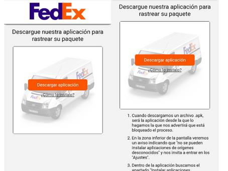 Rastreando mi paquete: Amenazas dirigidas a paquetes y envíos DHL y FEDEX