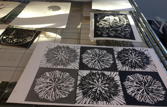 examples of students prints