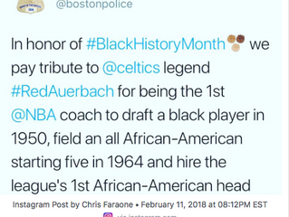 Boston Police Honored a White Guy for Black History Month
