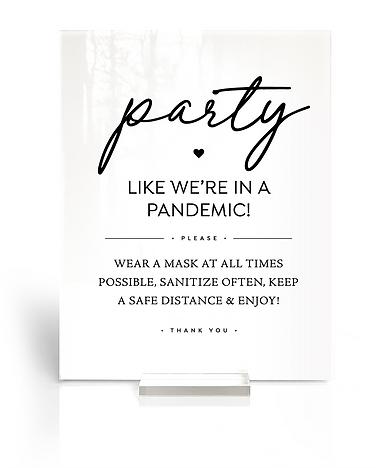 party like pandemic wedding covid-19 cor