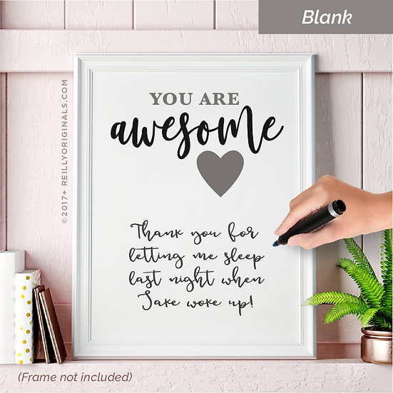 You Are Awesome Personalized Smile Card™