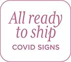 See all covid-19 coronavirus party sign