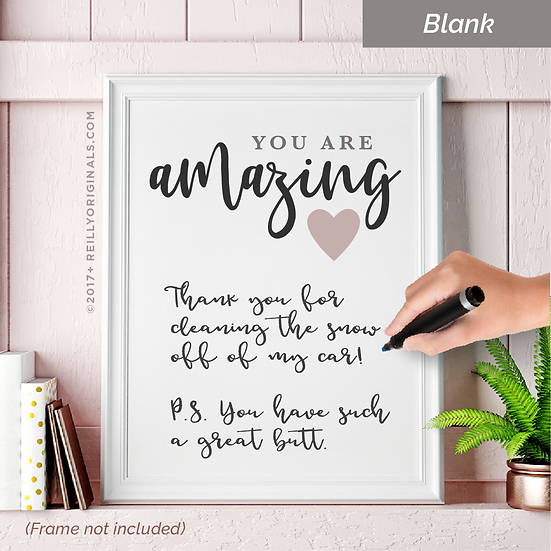You Are Amazing Personalized Smile Card™