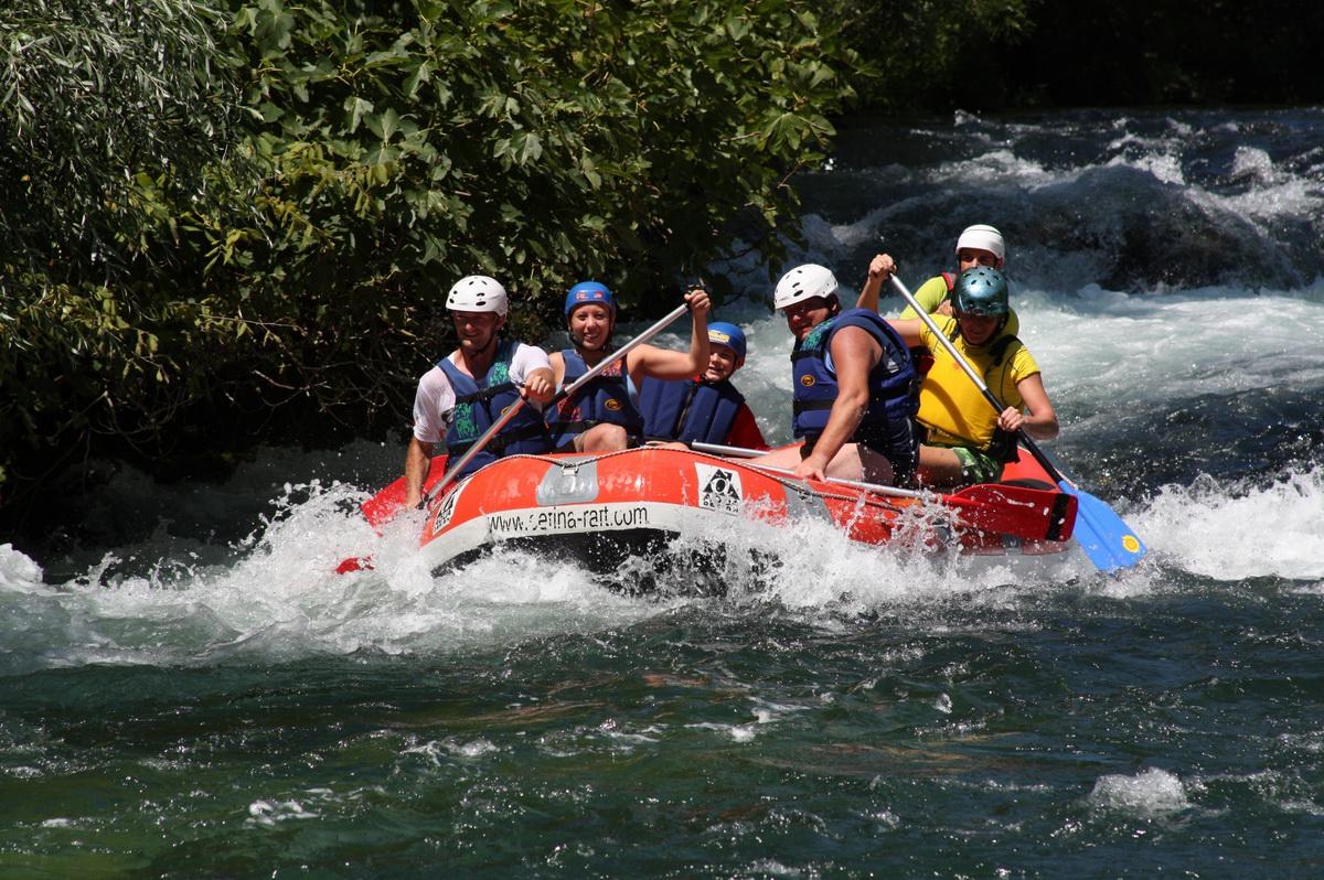 River rafting in Cetina