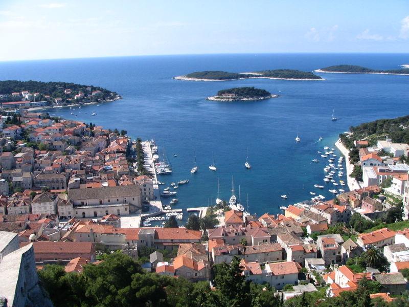Hvar with the small archipelago