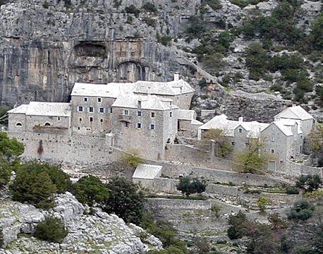 Medieval monastery in Blaca