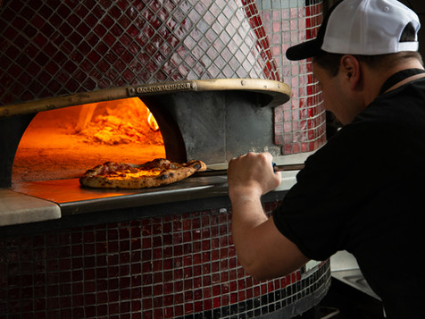 WOOD-FIRED PIZZAS