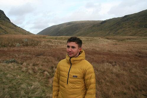Patagonia Half-Zip Pullover Down Jacket (Autumn Yellow)