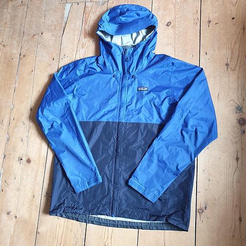 Patagonia Torrentshell Half-Zip Pullover (Ocean Blue)