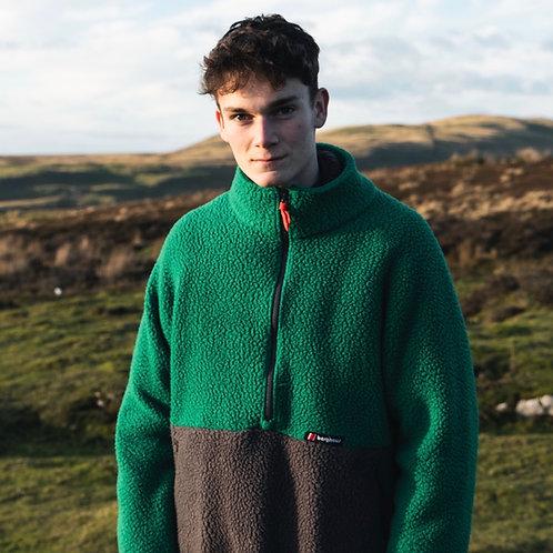 Berghaus Half-Zip Pullover Fleece (Forest Green / Volcanic Ash)