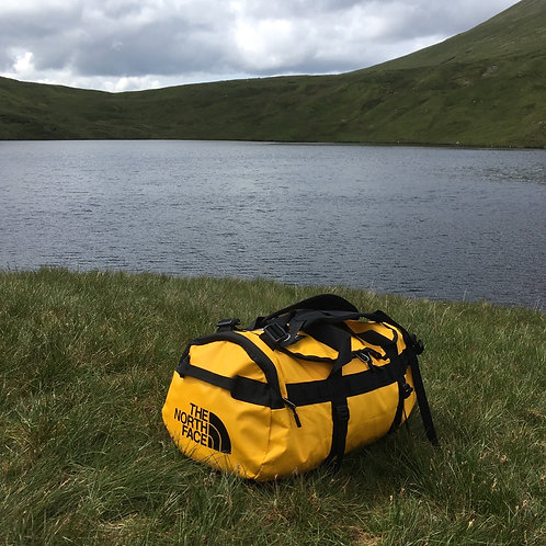 The North Face Base Camp 31 Litre Duffle Bag (Yellow / Black)
